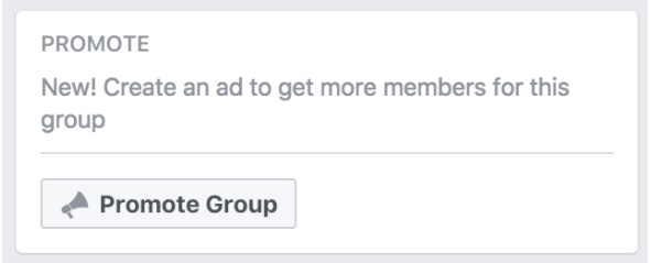 Promote your Facebook Group