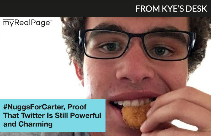 From Kye's Desk: #NuggsForCarter, Proof That Twitter Is Still Powerful and Charming