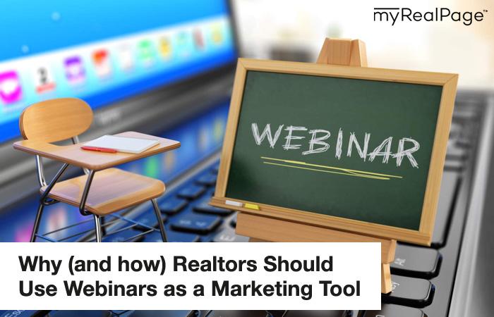 Realtors Should Use Webinars As a Marketing Tool