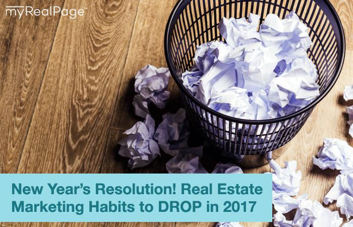 bad real estate marketing habits to drop