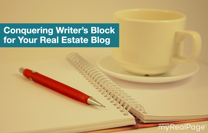 Conquering Writer's Block for Your Real Estate Blog