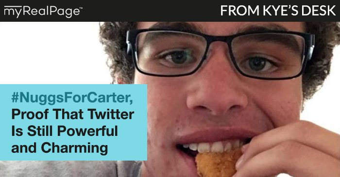 #NuggsForCarter, Proof That Twitter Is Still Powerful And Charming