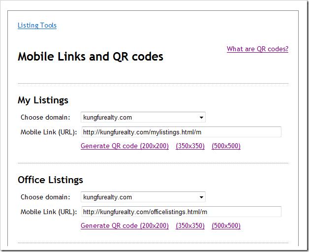 mobile-links
