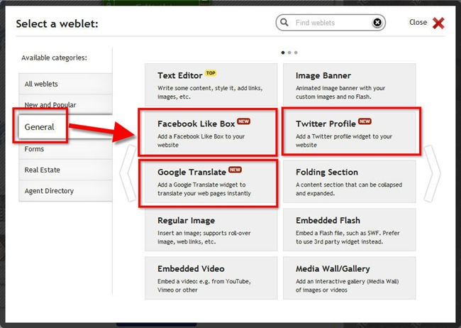 weblet-registry