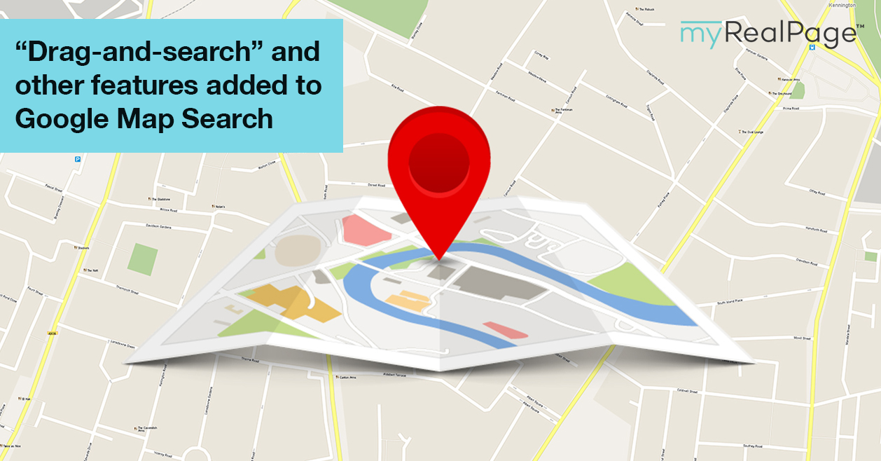 """Drag-And-Search"" And Other Features Added To Google Map Search"