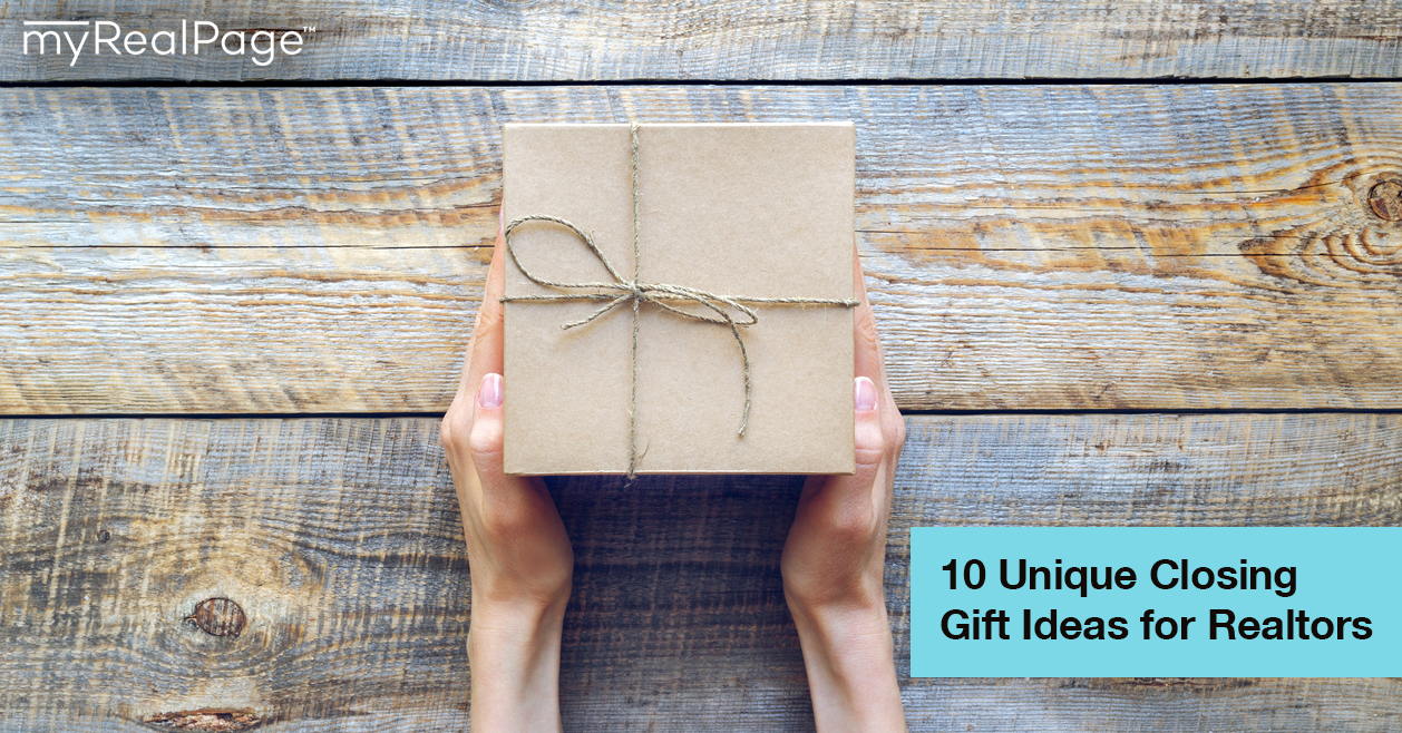 10 Unique Closing Gift Ideas For Realtors