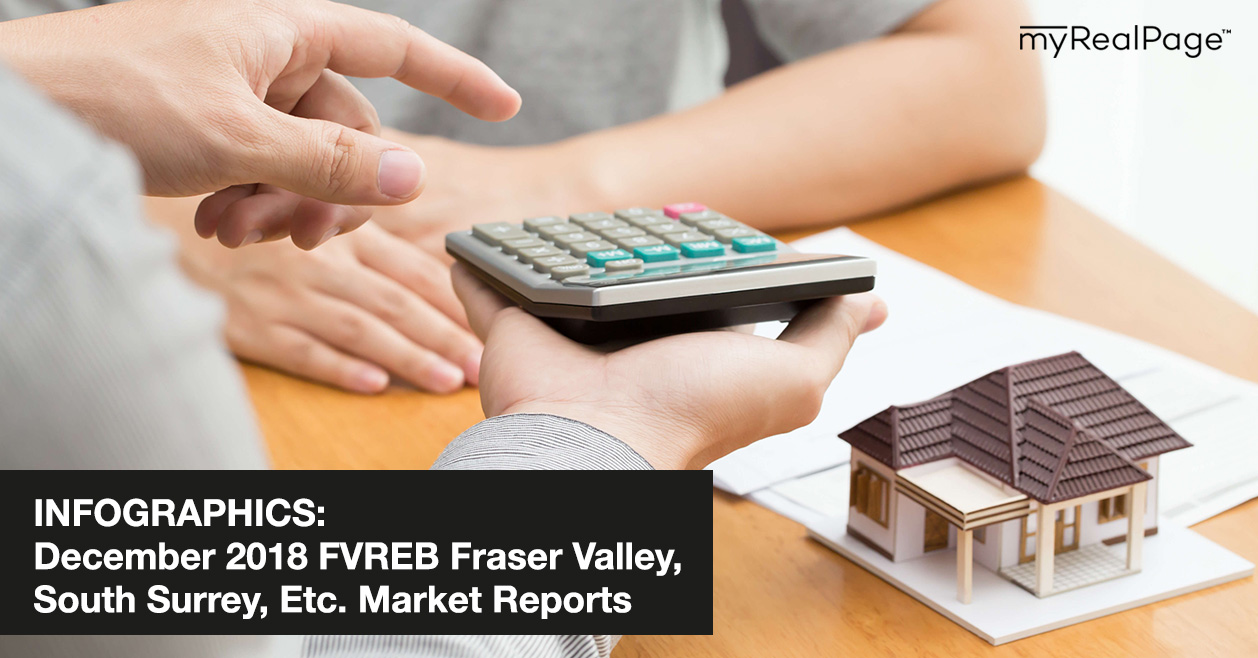 INFOGRAPHICS: December 2018 FVREB Fraser Valley, South Surrey, Etc. Market Reports