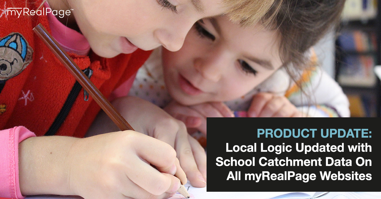 PRODUCT UPDATE: Local Logic Updated with School Catchment Data On All myRealPage Websites