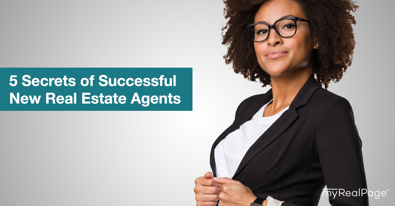 5 Secrets of Successful New Real Estate Agents