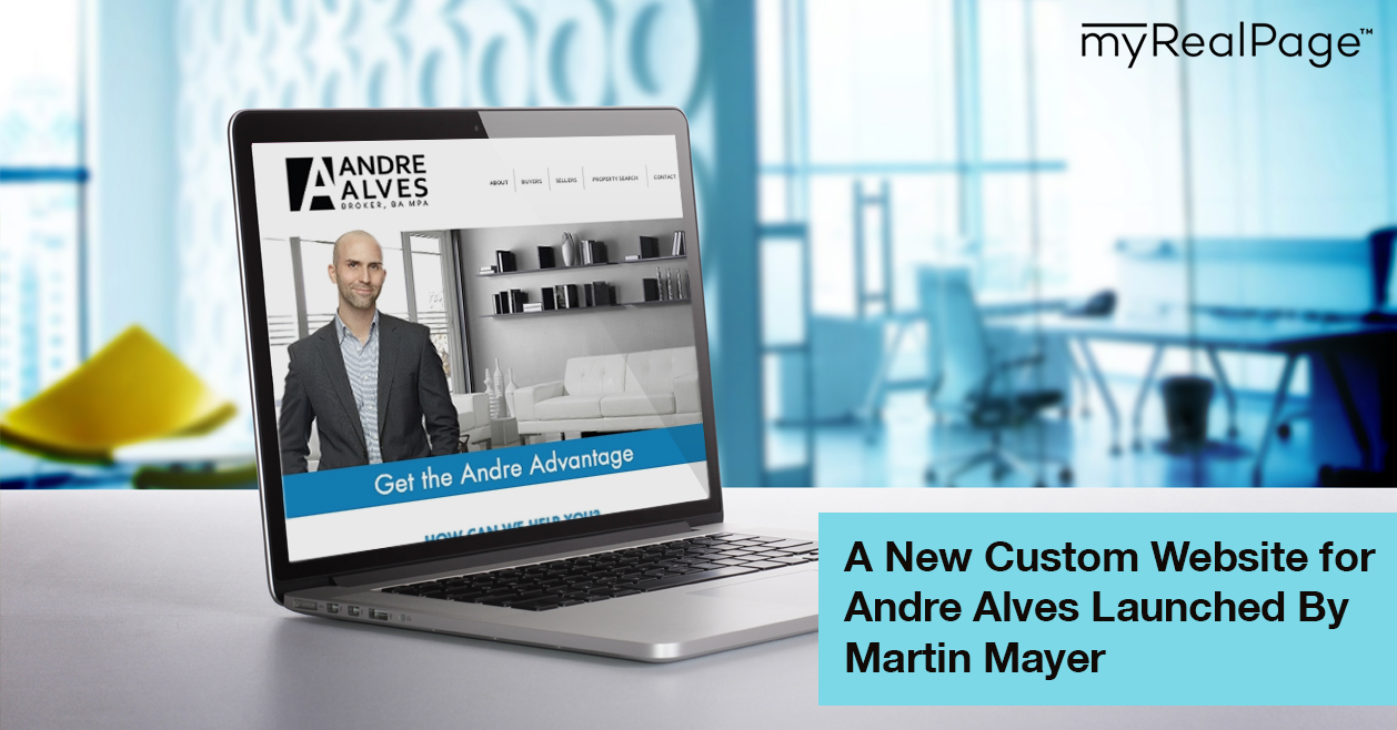 A New Custom Website for Andre Alves Launched By Martin Mayer