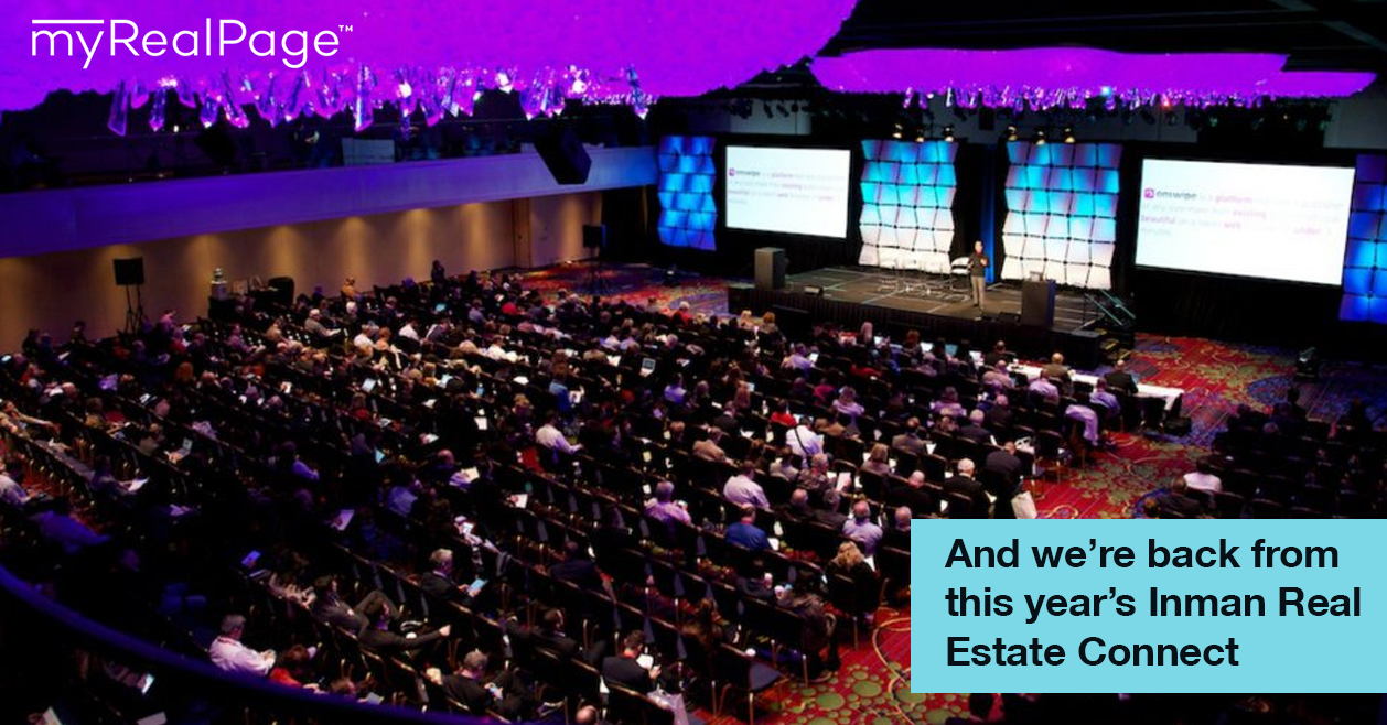 And we're back from this year's Inman Real Estate Connect