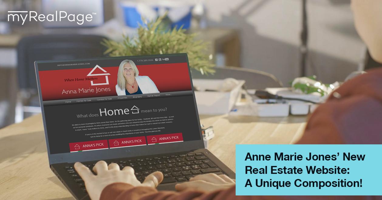 Anne Marie Jones' New Real Estate Website: A Unique Composition!