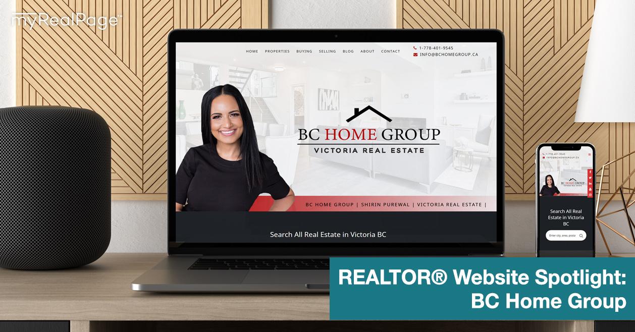 REALTOR® Website Spotlight - BC Home Group