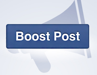 Facebook boosted posts