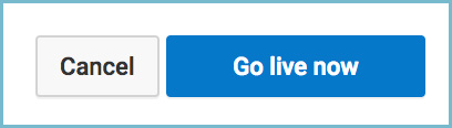Youtube channel live hangout webinar go live now