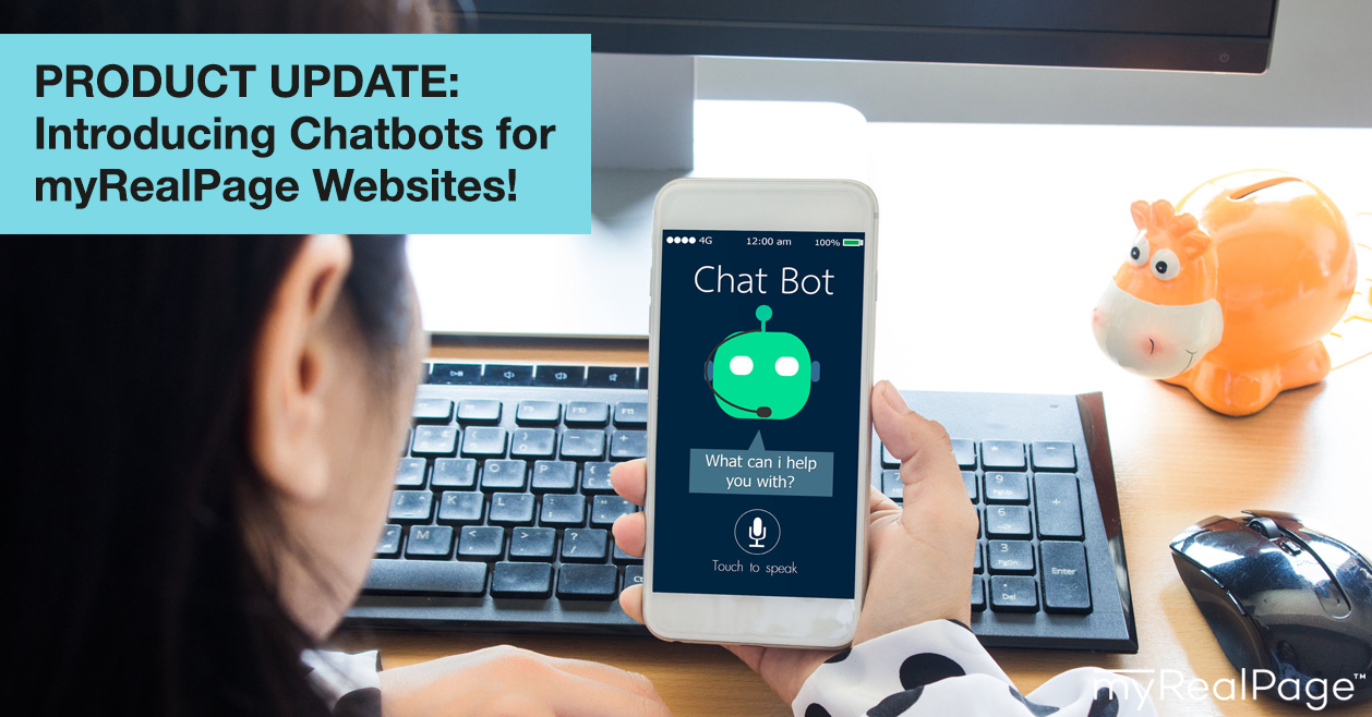 PRODUCT UPDATE: Introducing Chatbots for myRealPage Websites!
