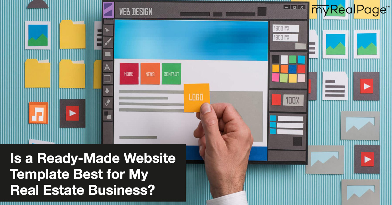 Is a Ready-Made Website Template Best for My Real Estate Business?
