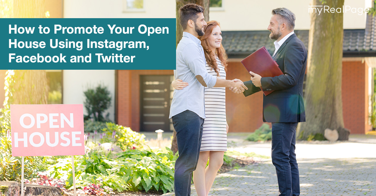 How to Promote Your Open House Using Instagram, Facebook and Twitter