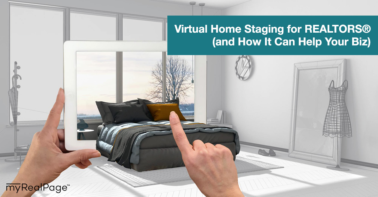 Virtual Home Staging for REALTORS® (and How It Can Help Your Biz)