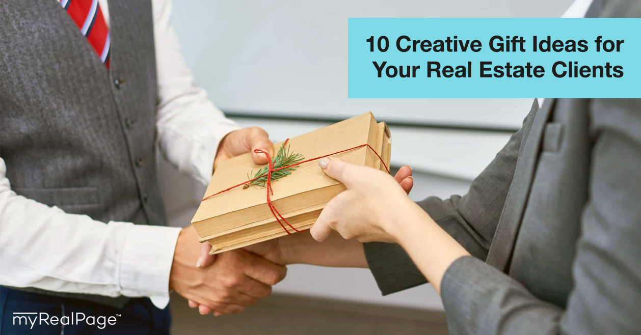 10 Creative Gift Ideas for Your Real Estate Clients