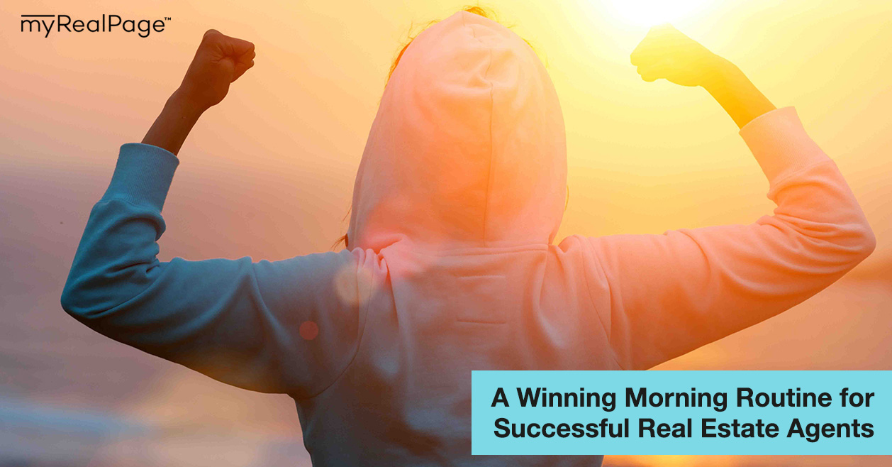 A Winning Morning Routine for Successful Real Estate Agents
