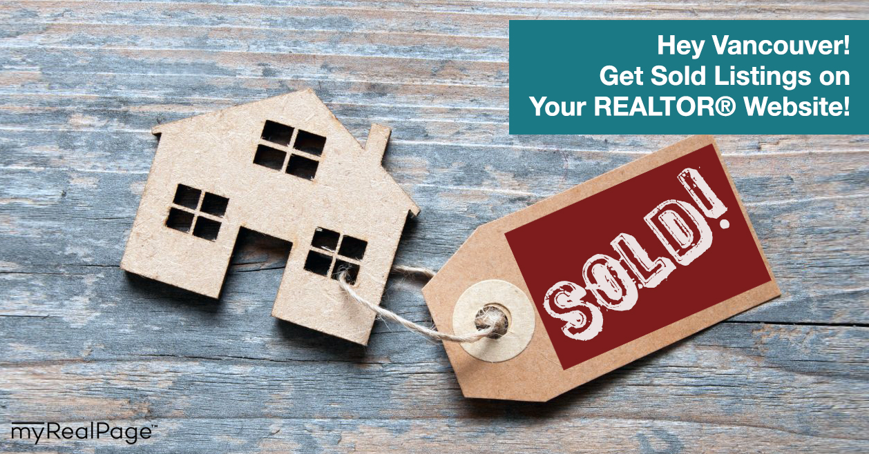 Hey Vancouver! Get Sold Listings on Your REALTOR® Website