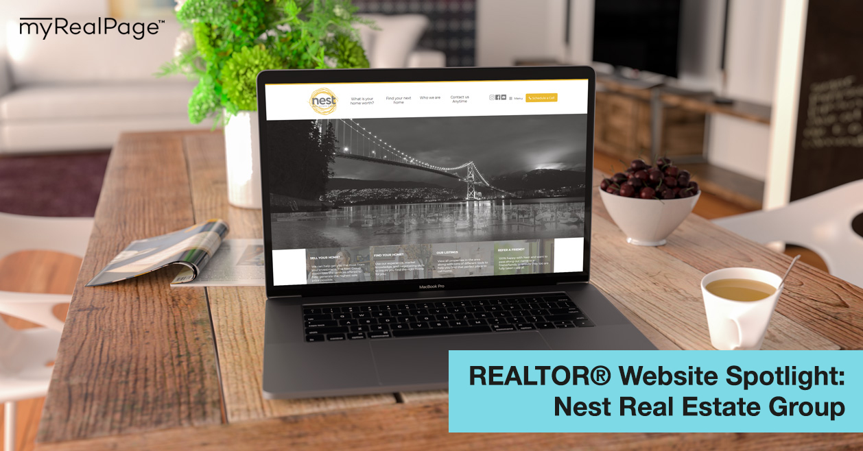 REALTOR® Website Spotlight - Nest Real Estate Group