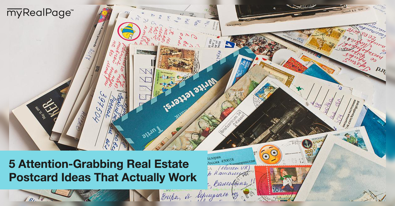 5 Attention-Grabbing Real Estate Postcard Ideas That Actually Work