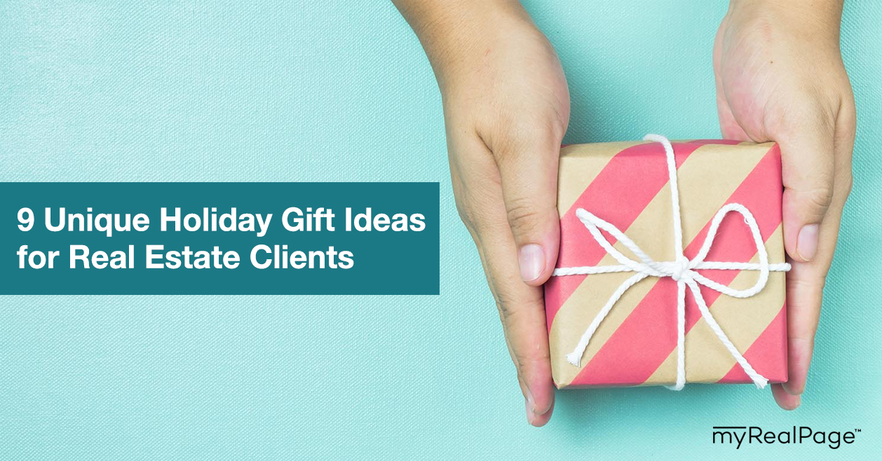 9 Unique Holiday Gift Ideas for Real Estate Clients