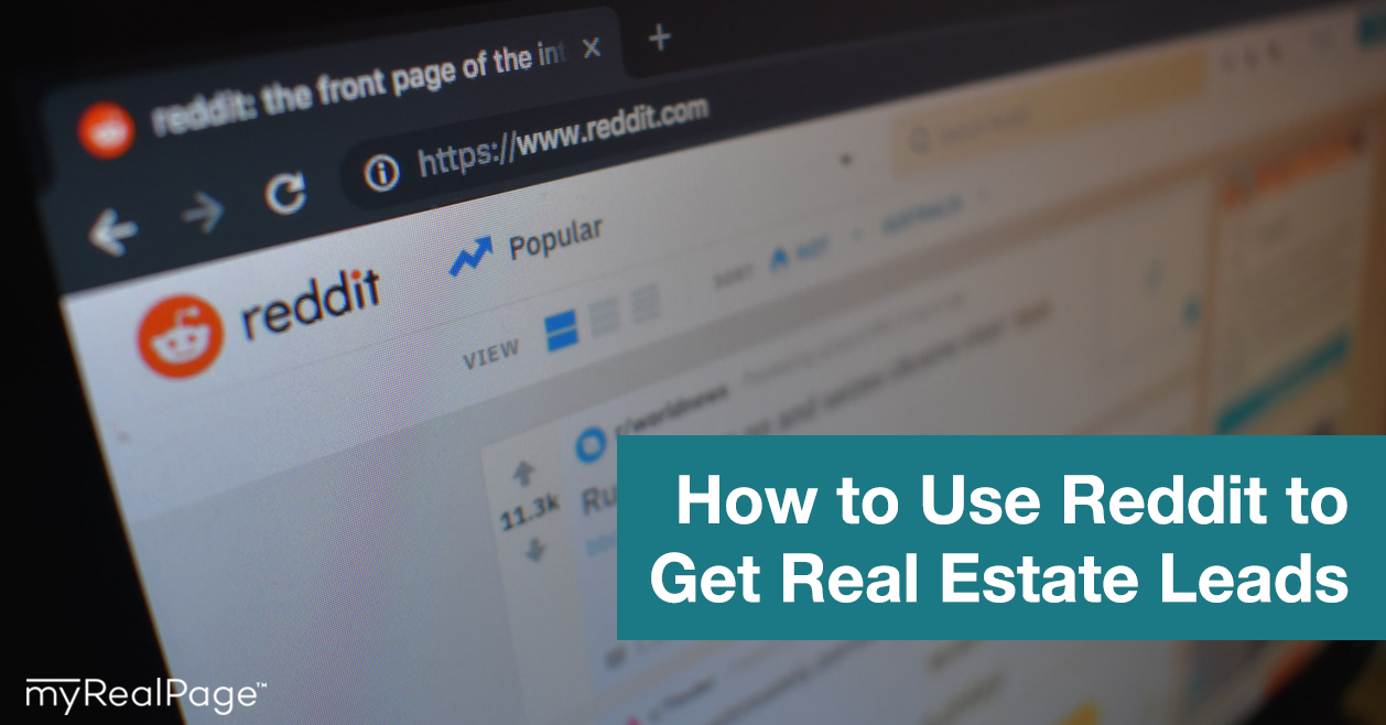 How to Use Reddit to Get Real Estate Leads