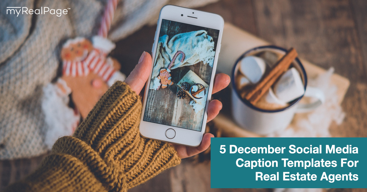5 December Social Media Caption Templates For Real Estate Agents