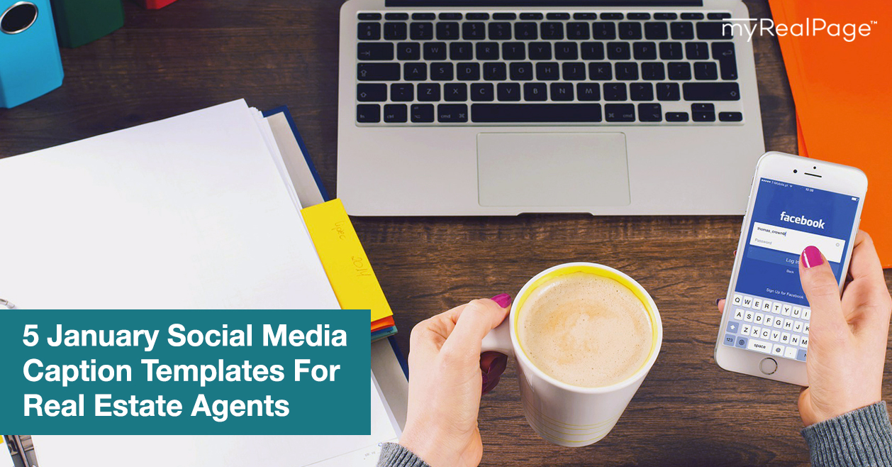 5 January Social Media Caption Templates For Real Estate Agents