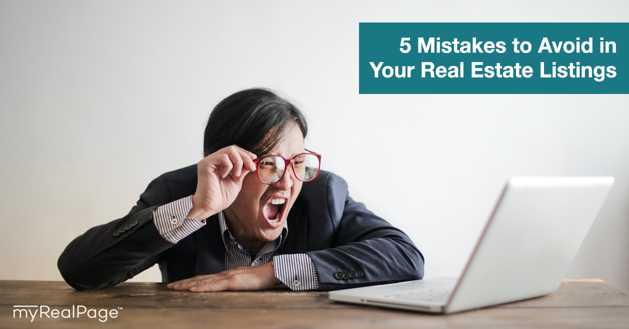 5 Mistakes to Avoid in Your Real Estate Listings