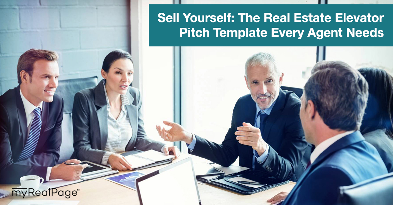 Sell Yourself: The Real Estate Elevator Pitch Template Every Agent Needs