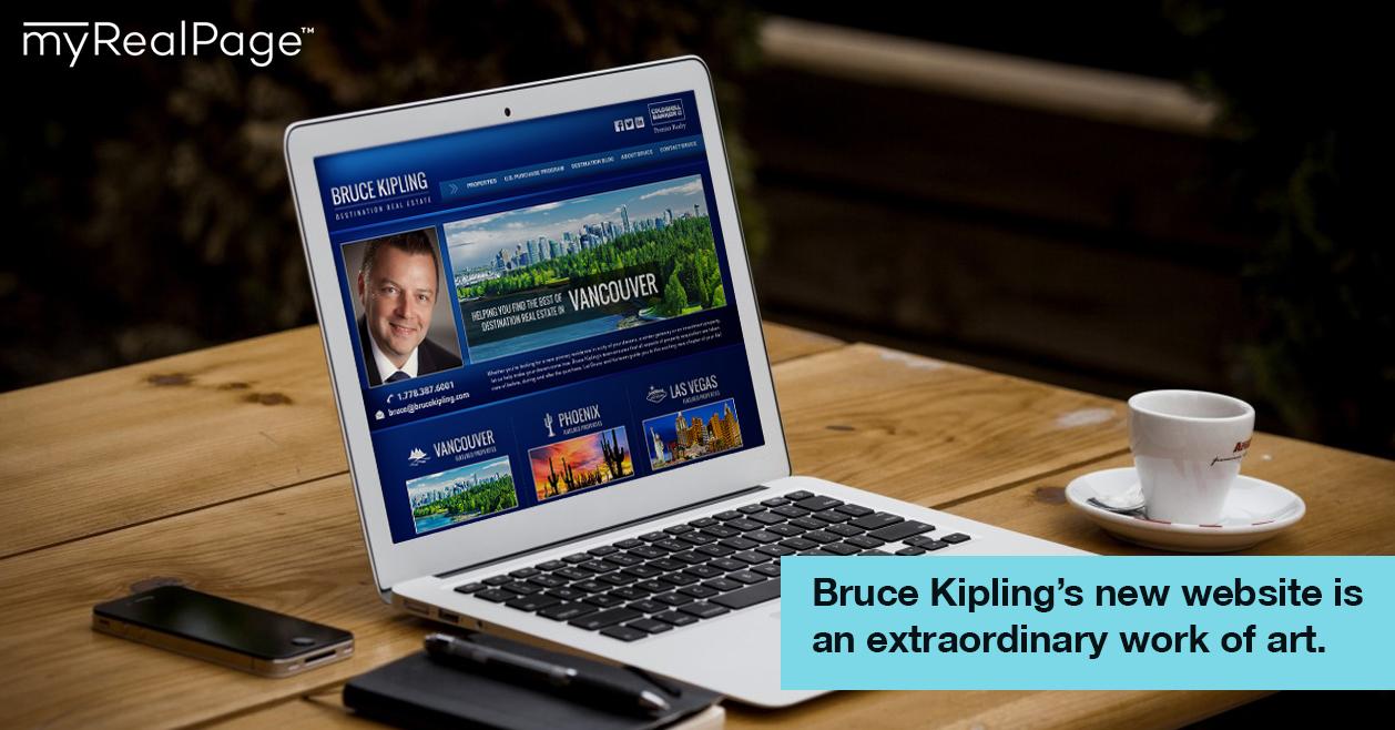 Bruce Kipling's new website is an extraordinary work of art.