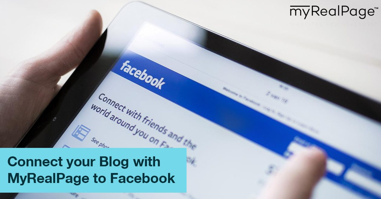 Connect Your Blog With MyRealPage To Facebook