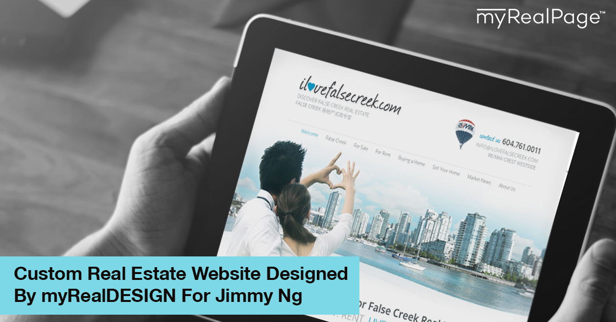 Custom Real Estate Website Designed By myRealDESIGN For Jimmy Ng