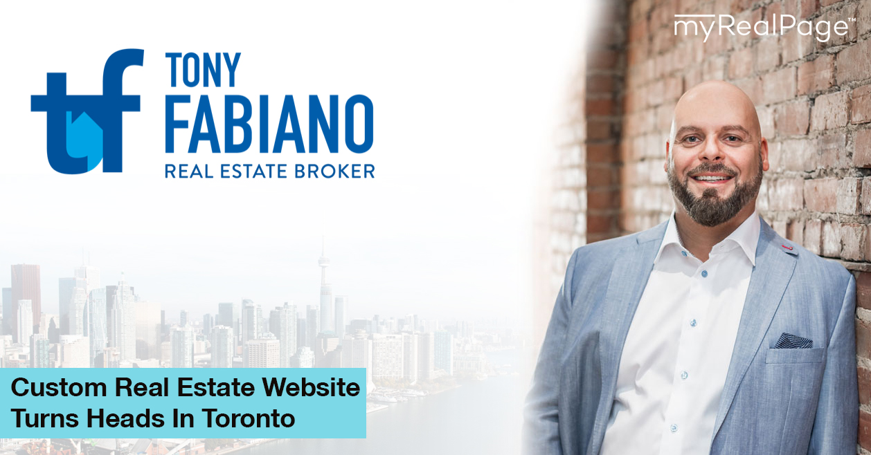 Custom Real Estate Website Turns Heads In Toronto