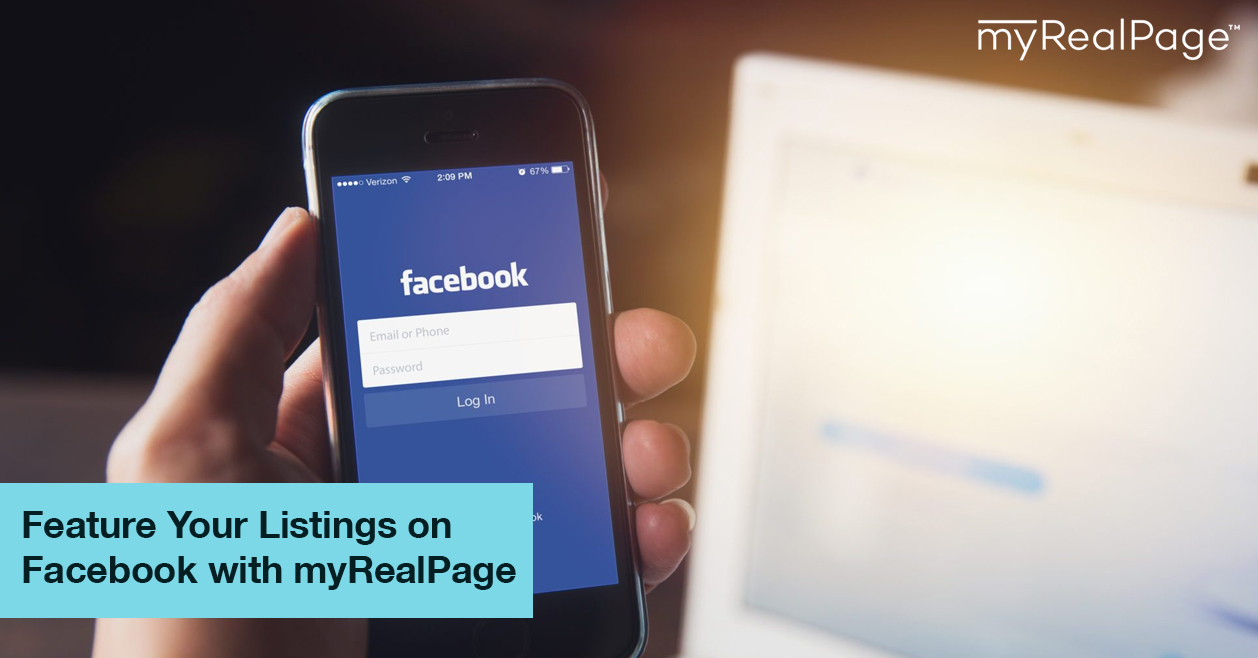 Feature Your Listings On Facebook With MyRealPage