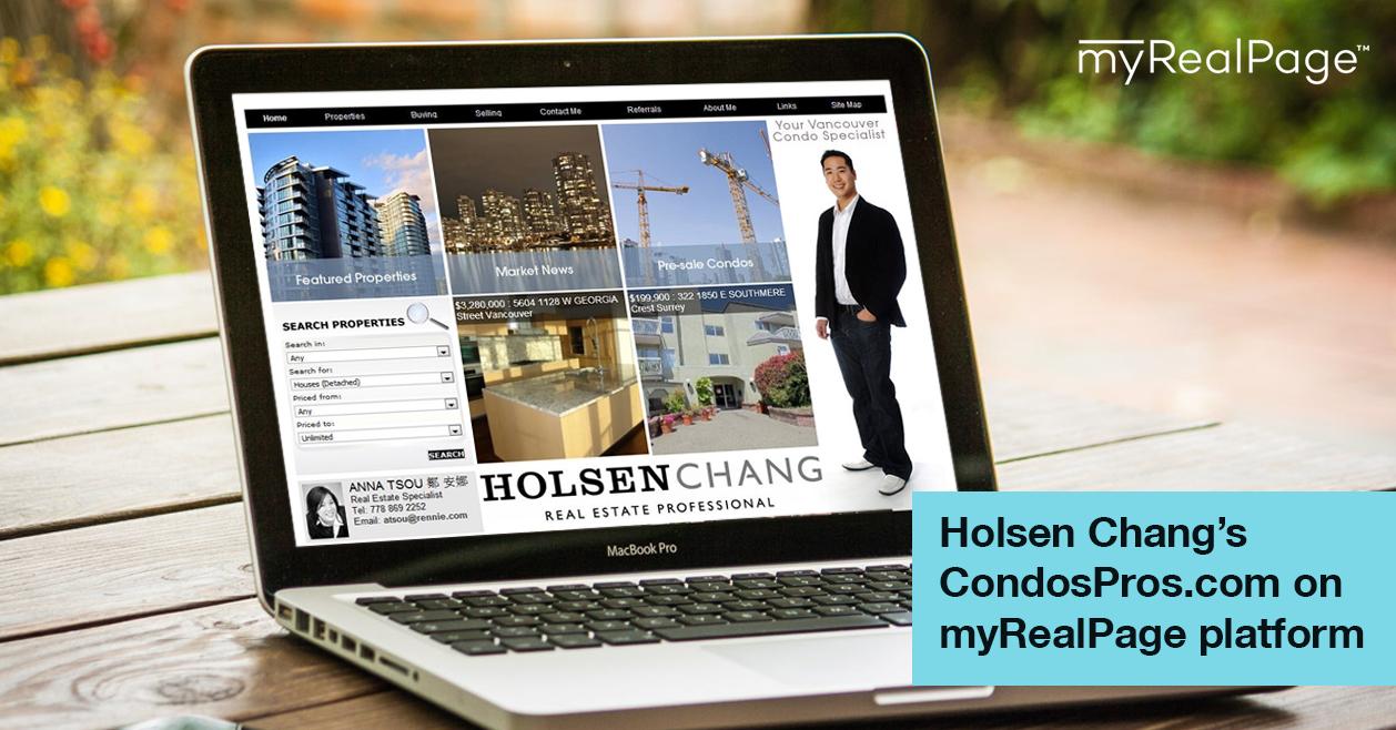 Holsen Chang's CondosPros.com on myRealPage platform
