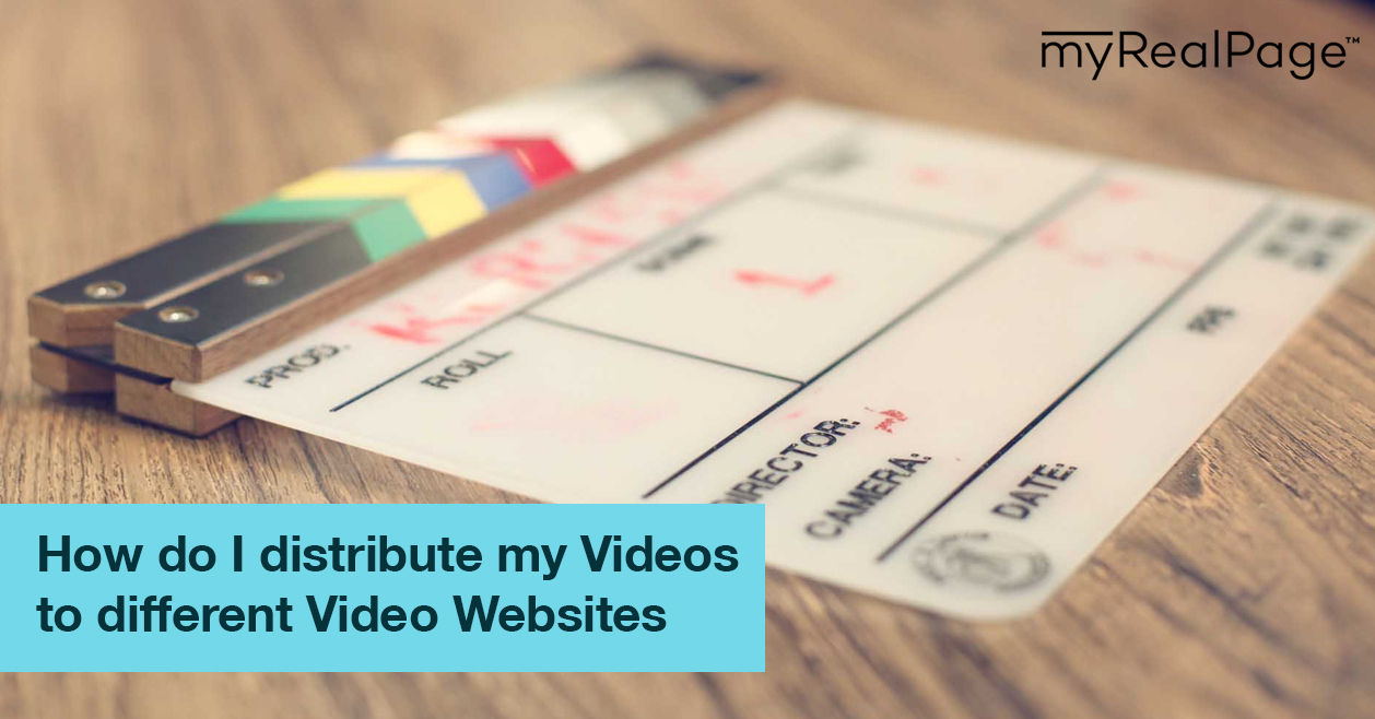 How do I distribute my Videos to different Video Websites