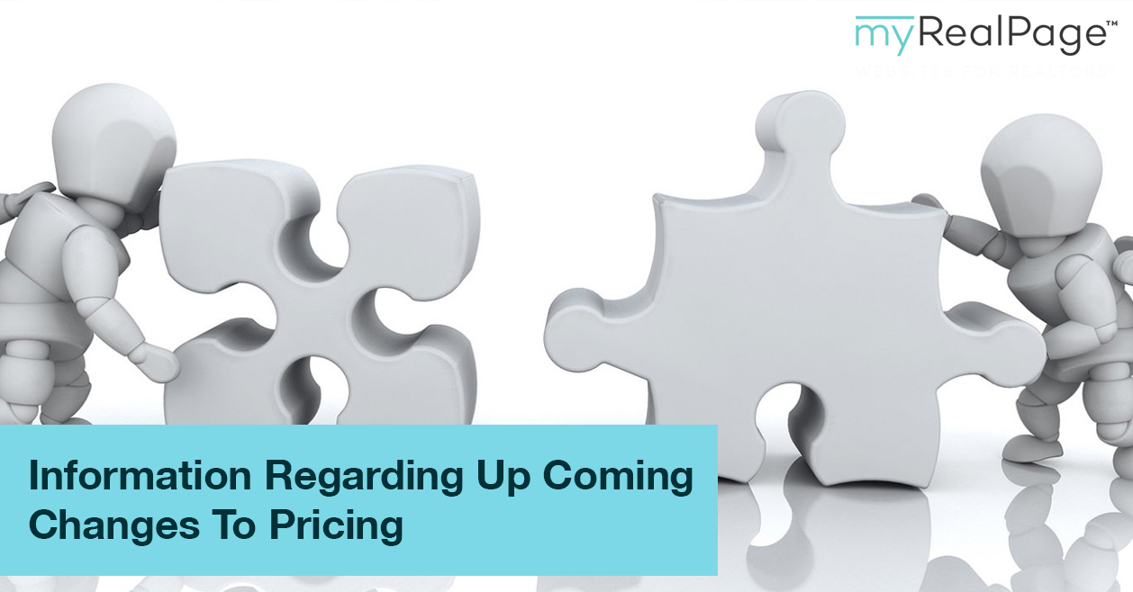 Information Regarding Up Coming Changes To Pricing