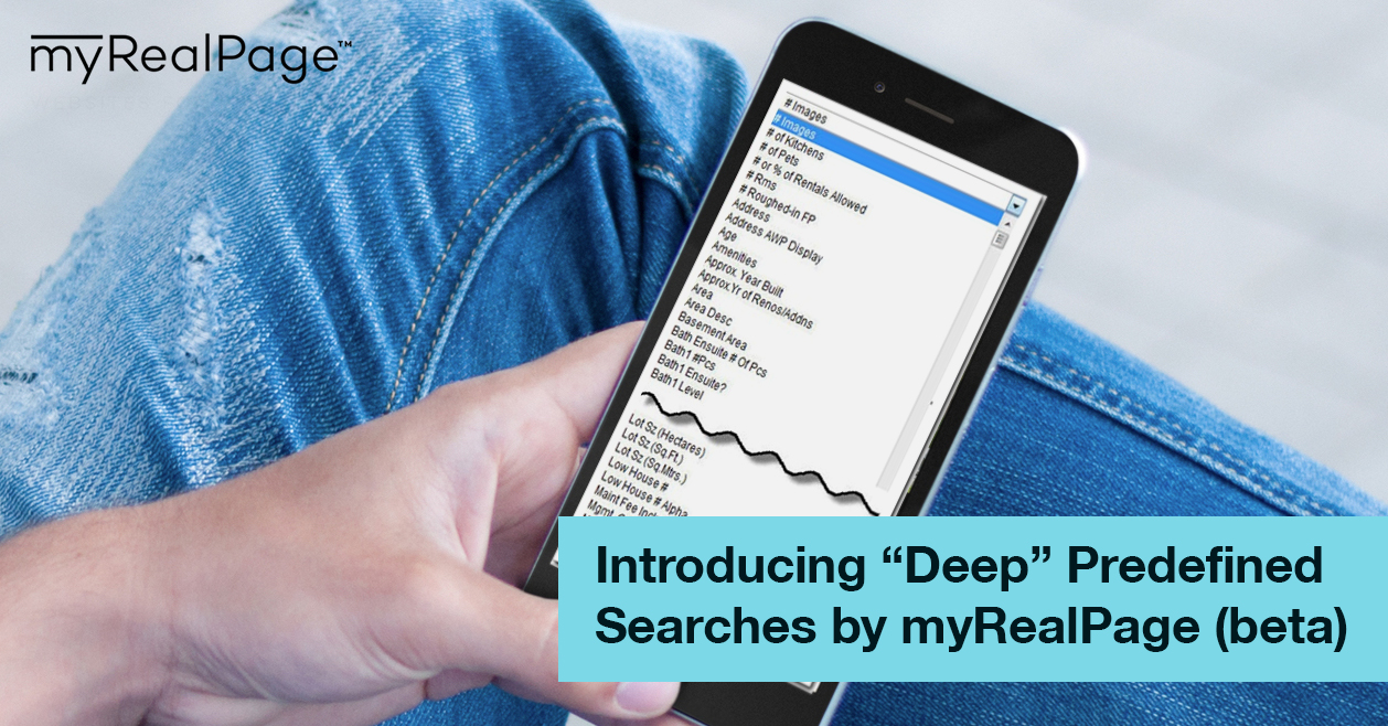 "Introducing ""Deep"" Predefined Searches by myRealPage (beta)"
