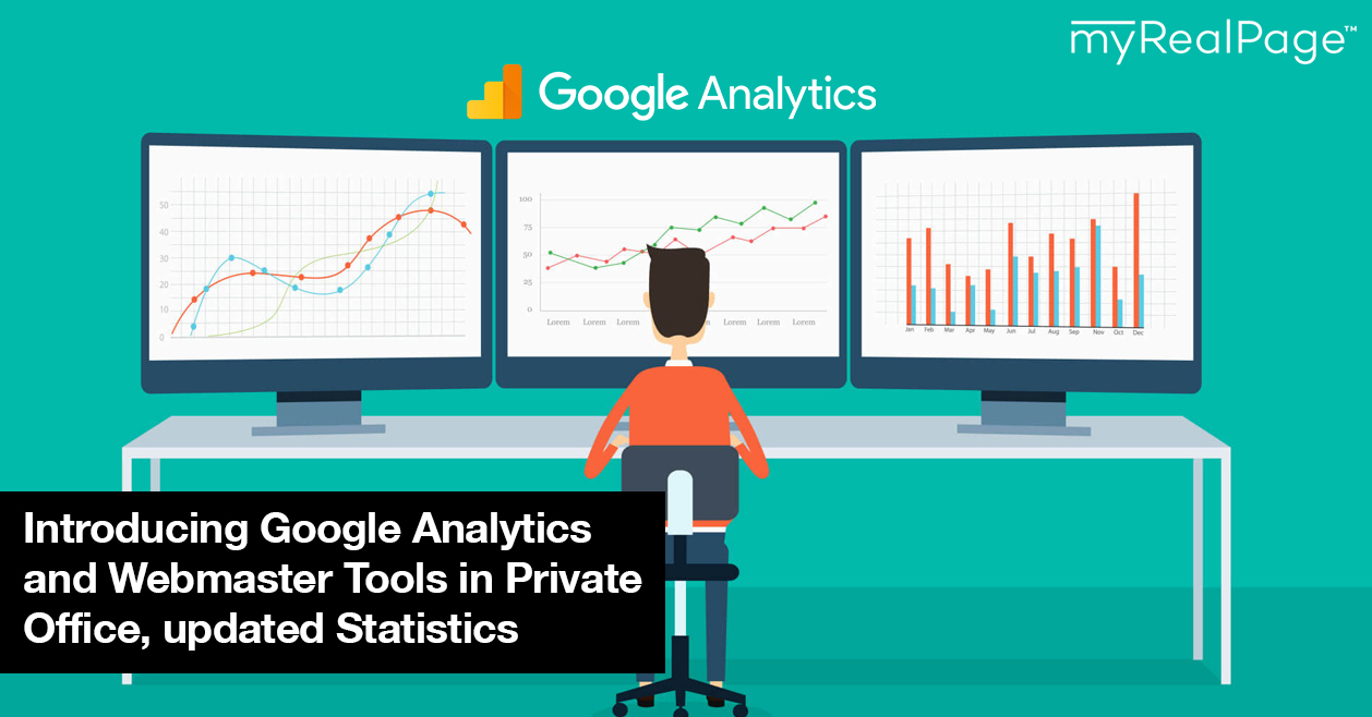Introducing Google Analytics And Webmaster Tools In Private Office, Updated Statistics