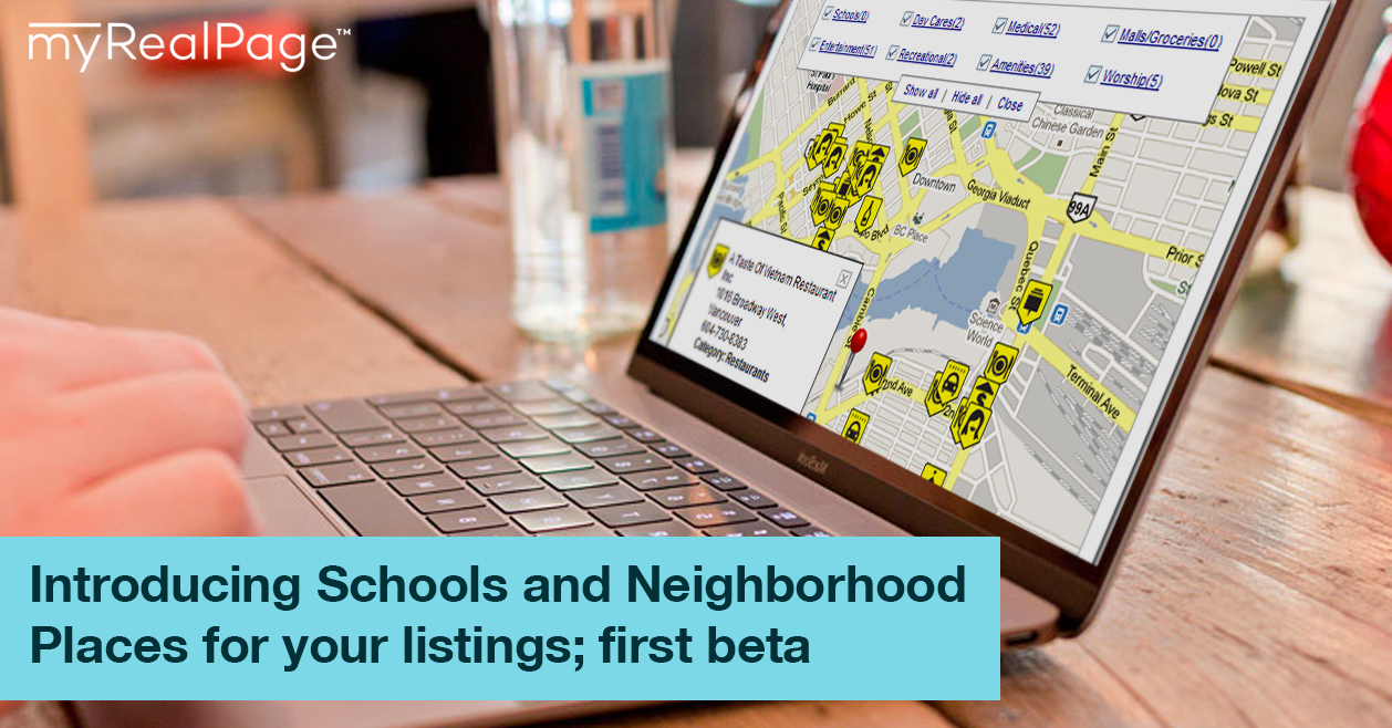 Introducing Schools and Neighborhood Places for your listings; first beta