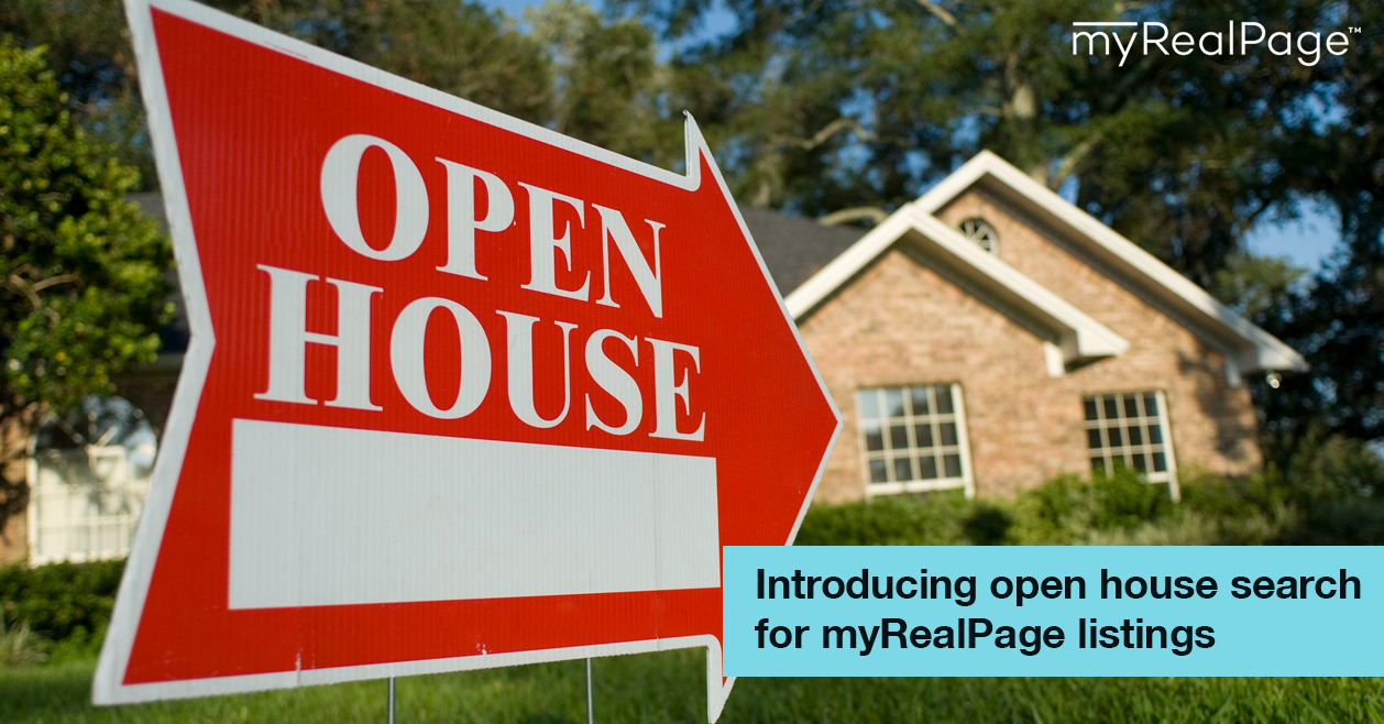 Introducing open house search for myRealPage listings