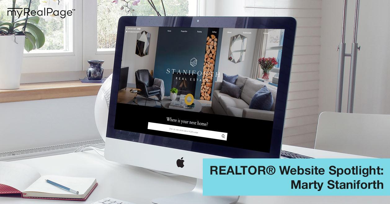 REALTOR® Website Spotlight - Marty Staniforth