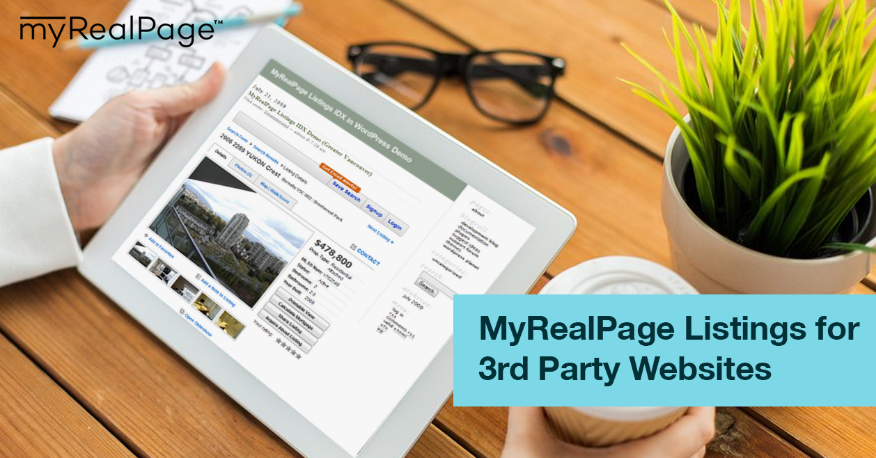 MyRealPage Listings For 3rd Party Websites