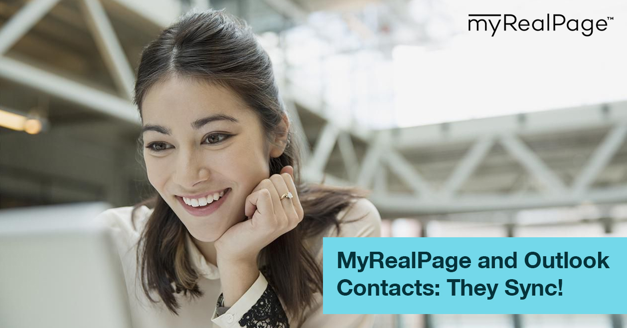 MyRealPage And Outlook Contacts: They Sync!