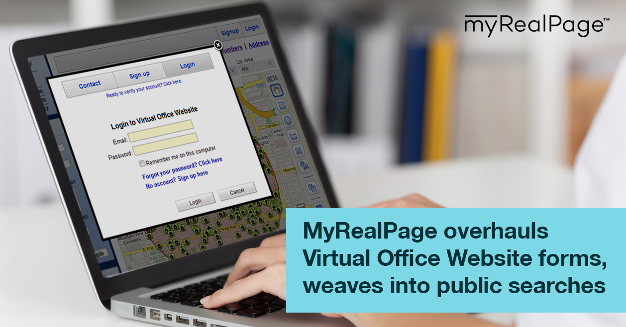 MyRealPage overhauls Virtual Office Website forms, weaves into public searches